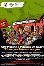"""Roma - sabato 6 luglio 2019 """"XIV Tributo a Fabrizio De André""""- inizio concerto ore 21.00"""